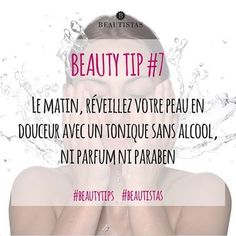 Pour une peau fraîche dès le matin, rien de plus simple ! #beautytips #beautistas #skin #skincare #tonic #sweet #fresh #beauty #noperfume #noparaben