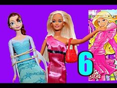 Barbie Birthday Month Surprise Daily Presents with Disney Frozen Elsa Advent Calendar Day 6