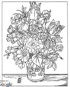 Color Your Own Great Flower Prints Charlene Tarbox 9780486415536 Books