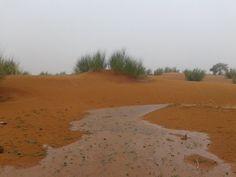 امطار متفرقة على مناطق من الحوضين