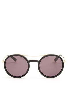9dbd6d672ec Max Mara Oblo round-frame sunglasses Sunglasses Shop