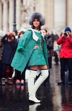 Miroslava_Duma-Haute_Couture_2013-Outfits-Street_Style-Chanel.jpg (790×1221)