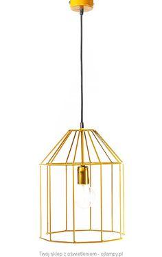 Lampa loftowa CAGE - ojlampy.pl #loft #lampaloftowa #industrial #polskielampy