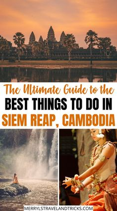 Wondering what to do in Siem Reap? Here is a list of some of the top places to visit in Siem Reap that you should add to your itinerary. Cambodia Travel, Vietnam Travel, Asia Travel, Solo Travel, Time Travel, Luang Prabang, Beautiful Places To Visit, Cool Places To Visit, Amazing Destinations