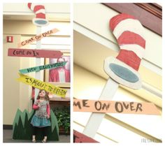 "Dr. Seuss theme New Beginnings - ""Come on over, come on in. New beginnings is about to begin!""  Cute theme for a family event?"