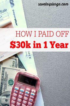 """The majority of us have some form of debt - student loans, credit cards, car, house, etc. See how I was able to pay off $30k of debt in just 1 year! It was a """"when life gives you lemons, make lemonade"""" kind of moment for me! Debt Payoff, Credit Card Debt #Debt"""