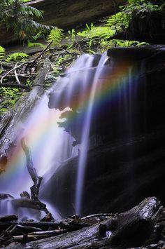 Rainbow Falls by Jim Hatch