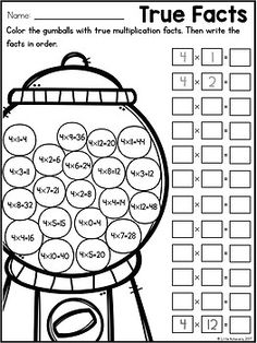 Great Multiplication Worksheets Multiplication Facts Practice Times Tables Practice in Fun Multiplication Worksheets Capital Letters Worksheet, Letter Worksheets, Free Worksheets, Times Tables Worksheets, Multiplication Facts Practice, Multiplication Tables, Algebraic Expressions, Fun Math Activities, Basic Math