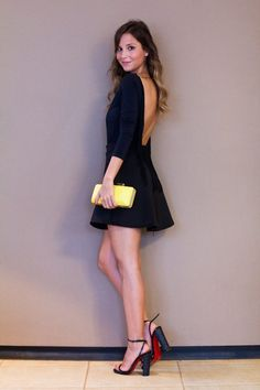 Look – all Black Dress Outfits, Dresses, All Black, Body, Ideias Fashion, Style Inspiration, Clothes, Inspired, Girls