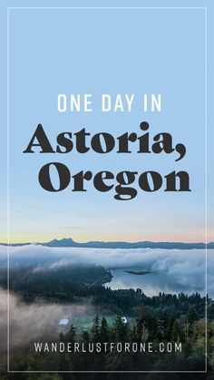 art from One Day in Astoria, Oregon - Wanderlust for One #travel  #oregon #PNW