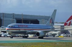 American Airlines B 767 LAX