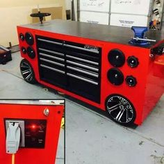Make Your Work Fun With This Cool Tool Box