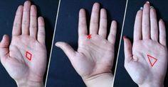Podívejte se pozorně na svou dlaň. Pokud tam najdete trojúhelník, hvězdu nebo kosočtverec, toto byste měli vědět! |
