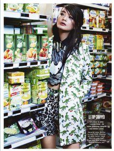Li Wei Shan por Naomi Yang for Glamour Fr 2014