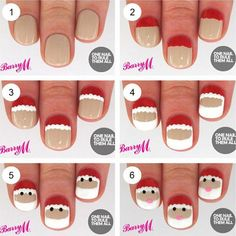 20-Easy-Simple-Christmas-Nail-Art-Tutorials-For-Beginners-Learners-2015-16