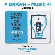 Drawn to Music - Volume 1 : Track 12 - Volatile Times by IAMX #sketchbookproject2017 #drawntomusic #volume1 #S164511 #halfandhalf #blackwhiteandblue #volatiletimes #iamx