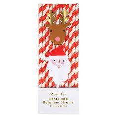 Santa and Reindeer P