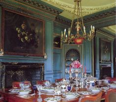 The Dining Room at Dorney Court
