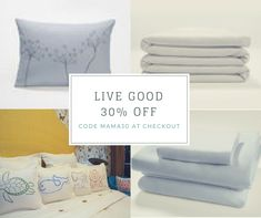 Hurry - almost out of time to send a cozy blanket or sumptuous sheet set for Mother's Day!  30% off all Live Good items with code MAMA30 through Mother's Day. Share and retweet - thank you! #sale #MadeinUSA #organicMothersDay #madeinAmerica http://amp.gs/CXkE