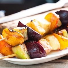 Grilled Summer Fruit | Organic Recipe Book