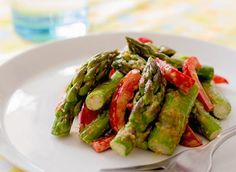 Recipe of the Day: Asparagus with Almond Butter Sauce