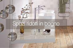 Spazi ridotti in bagno: l'utilizzo di forme semplici e compatte
