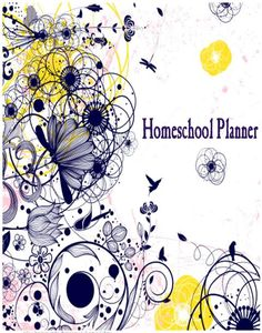 Homeschool Planner- for more than one child and all set up for a review