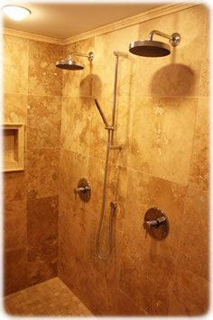 I do t like this specific shower but I live the idea of a his and hers shower head