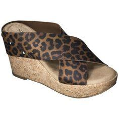 Women's Merona® Nadia Wedge Cork Heels - Assorted Colors