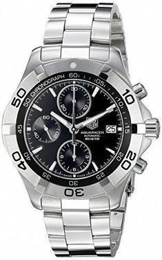 de73dc89f1d TAG Heuer Men s CAF2110.BA0809 2000 Aquaracer Automatic Chronograph Watch  by TAG Heuer Tag Heuer