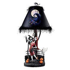 Tim Burton's The Nightmare Before Christmas Moonlight Lamp: Bradford Exchange