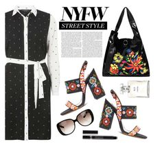 """NYFW Street Style: Day One"" by dorinela-hamamci ❤ liked on Polyvore featuring Dorothy Perkins, Gucci, Chanel, Christian Dior, NYFW, polyvorecontest and polyvoreditorial"