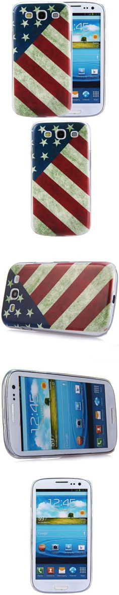 Samsung Accessories | Phone Protective Back Cover Case with American National Flag Style for Samsung Galaxy S3 i9300 $1.94