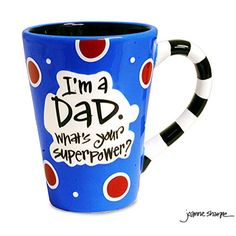 Super Dad Coffee Mug | Father's Day gifts from kids