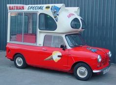 Mini Ice Cream Van