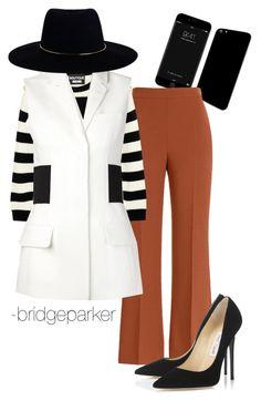 """Business Attire"" by bridgeparker on Polyvore featuring Fendi, Jimmy Choo, Boutique Moschino, Alexander Wang, Zimmermann, women's clothing, women's fashion, women, female and woman"