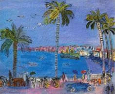 Promenade des Anges, Nice 1929, Raoul Dufy