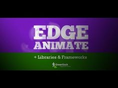 Adobe Edge Animate (HTML5 and Javascript). Tutorial on how to use the Greensock Animation Platform (Javascript) within the HTML5 code of an Adobe Edge Animate project.