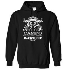 (Top Tshirt Charts) CAMPO BLOOD RUNS THROUGH MY VEINS [Hot Discount Today] Hoodies, Funny Tee Shirts