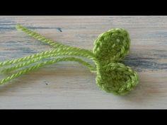 Small Crochet leaf - Yolanda Soto Lopez - YouTube