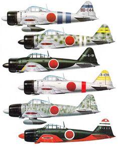 Japanese Mitsubishi Reisen Zero-Sen and the Pearl Harbor Attack Ww2 Fighter Planes, Airplane Fighter, Air Fighter, Airplane Art, Ww2 Planes, Fighter Aircraft, Fighter Jets, Ww2 Aircraft, Military Aircraft