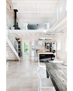 Open Concept Interior #livingroom #interior #interiors #interiordesign #design #architecture