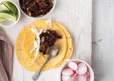 Salsa Roja Black Bean Tacos   Vegetarian Times