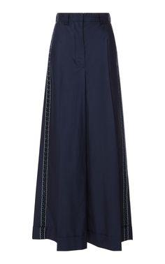 Aeolus Cotton Wide Leg Pant by Zeus + Dione Wide Leg Pants, Skater Skirt, Skirts, Cotton, Shopping, Clothes, Collection, Women, Fashion