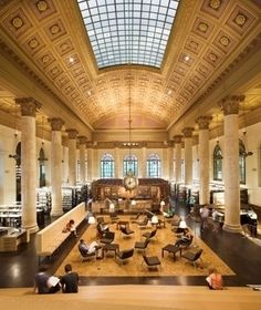America's Most Beautiful College Libraries: Fleet Library, Rhode Island School of Design,Providence RI