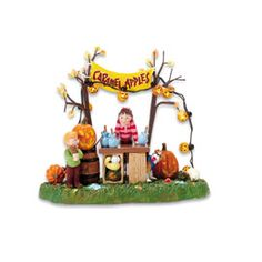 """Department 56: Products - """"Caramel Apple Stand"""" - View Accessories"""