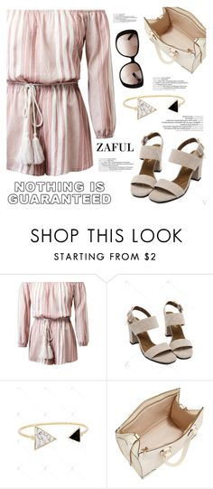 """http://www.zaful.com/?lkid=16334"" by helenevlacho ❤ liked on Polyvore featuring Valextra, Gucci and zaful"