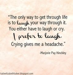 Marjorie Pay Hinckley. Love this quote.