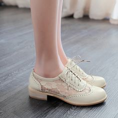 Cheap oxford shoes women, Buy Quality oxford shoes directly from China lace oxford Suppliers: New fashion women shoes medium heel shoes lace up oxford shoes women zapatos mujer spring summer casual ladies shoes plus size Oxford Shoes Heels, Lace Oxfords, Women Oxford Shoes, Lace Up Heels, Shoes Women, Flats, High Heel Pumps, Low Heel Shoes, Low Heels
