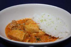 La cocina de mi abuelo: Receta: Murgi Bangaldesh, arroz thai y cítrico de lima ( pollo en salsa)